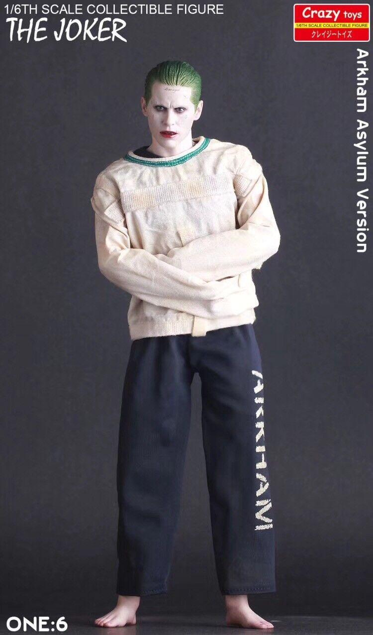 1/6 Crazy Toys DC Comics Suicide Squad Joker Arkham Asylum Version Action Figure