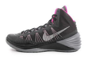 uk availability 8709c 3a559 Image is loading Nike-Hyperdunk-599537-005-Black-Pink-Gray-Basketball-