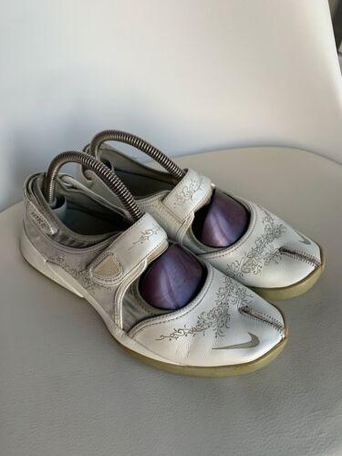 White / Med Silver Nike Air Zoom Rift Sandals (312