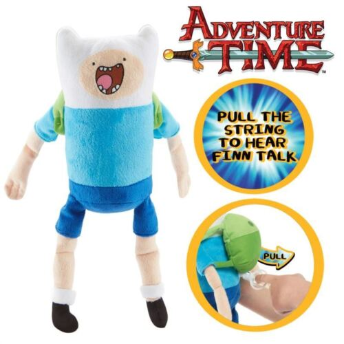 Adventure Time 12 INCH PULL STRING FINN Soft Toy with Sound