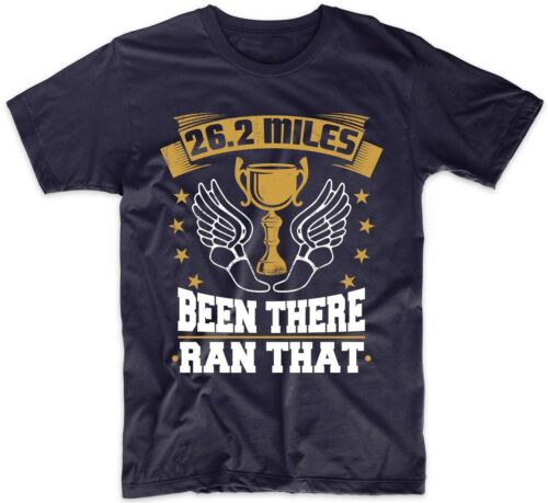 Funny Marathon Runner Shirt 26.2 Miles Been There Ran That Running T-Shirt