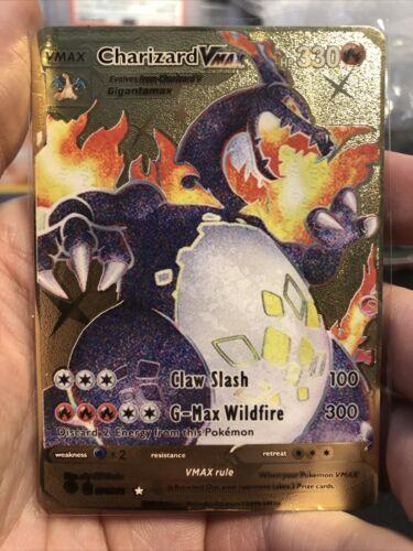 Custom Charizard Vmax Shining Fates Proxy Metal Card - TheCardconomist