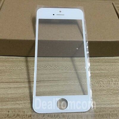 OEM Outer Glass Lens Front LCD Screen Cover Replacement For iPhone 5 5G 5S White