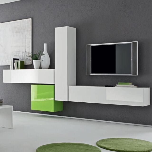 Parete attrezzata porta tv collezioni su ebay - Parete attrezzata porta tv moderna ...