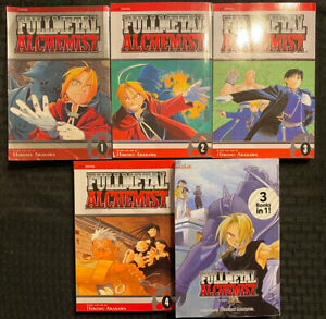 Fullmetal Alchemist 1, 2, 3, 4, 7/8/9 Omnibus Manga Graphic Novel Viz Fantasy