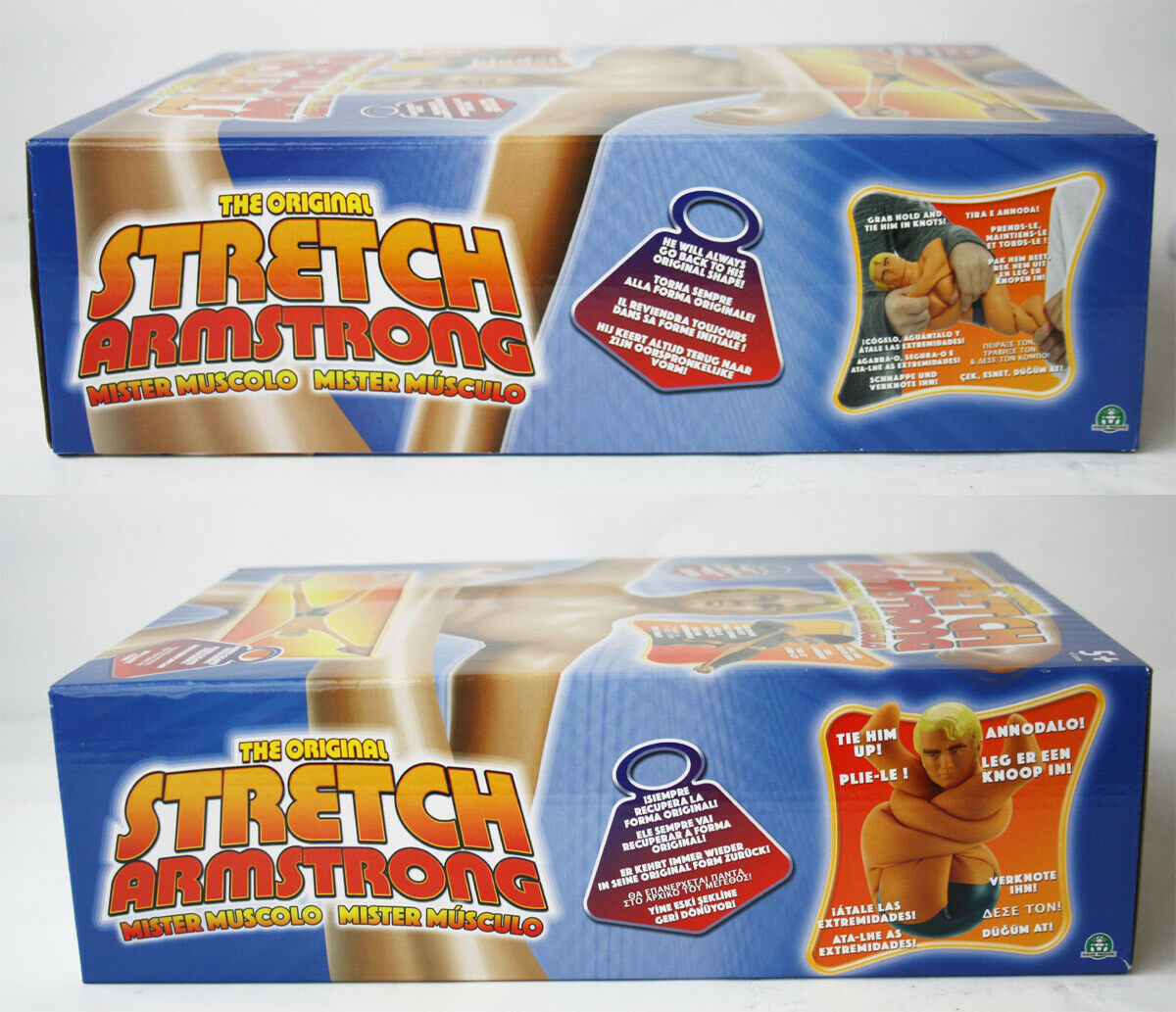 THE ORIGINAL STRETCH ARMSTRONG ARMSTRONG ARMSTRONG FIGURE HASBRO 2017 NEW SEALED 1103d4