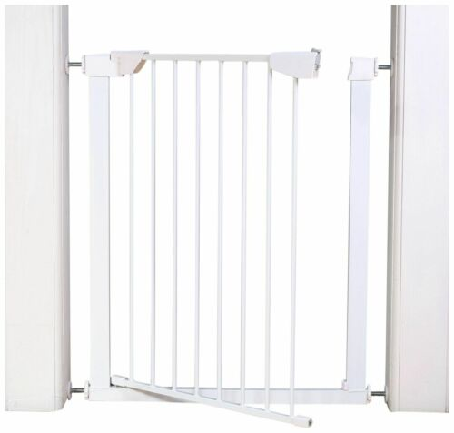 Used Cuggl Pressure Fit 91cm Extra Tall 2 way Safety Gate-RK99.