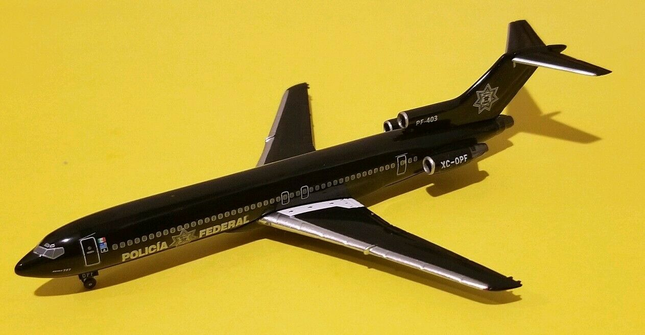 Aeroclassics 1 400 Mexican Federal Police 727-200 XC-OPF