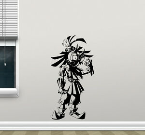 Image is loading Legend-Of-Zelda-Wall-Decal-Skull-Kid-Video- & Legend Of Zelda Wall Decal Skull Kid Video Game Vinyl Sticker Decor ...