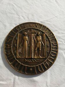 medaglia-premio-universita-padova-sigillo-1972-Strazzabosco-Granero-7-5-cm-191gr