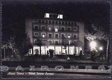 PADOVA ABANO TERME 70 STABILIMENTO ALBERGO NOTTURNO Cartolina FOTOGR. viagg 1952