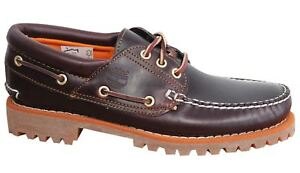Leather Up Boat 3 U5 Earthkeepers Shoes 6501a Mens Brun Eye Lug Lace Timberland wq0W4FXc