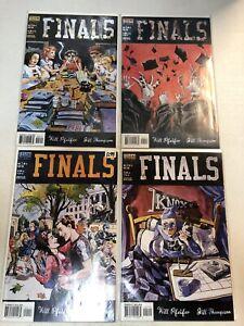 Finals (1999) #1 2 3 4 1-4 (VF/NM) Complete Set Vertigo Jill Thompson art