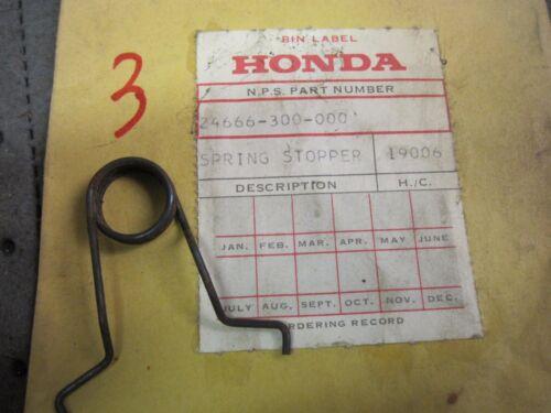 OEM Honda CB 750 GL 1100 1200 POSITIVE STOPPER SPRING 24666-300-000