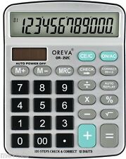 Oreva 12 Digits120 Steps Check Calculator OR-212-C