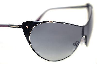 Damen-accessoires Tom Ford Vanda Tf364 01b Damen Übergröße Cat Eye Schild-sonnenbrillen Auf Der Ganzen Welt Verteilt Werden Sonnenbrillen & Zubehör