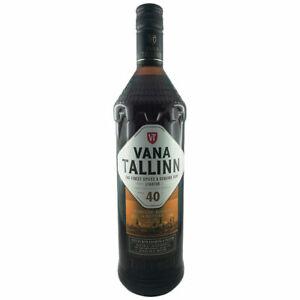 Vana Tallinn Rum Likör 1L 40% vol. Estland Spirituose Liqueur Estonia