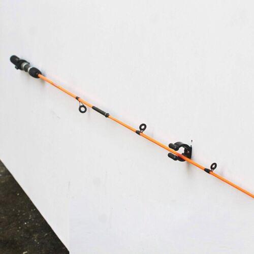 12 StüCk RegelmäßIge Angel Rute Ruten Halter Aufbewahrung Clips Rack 2 Stil B9F5