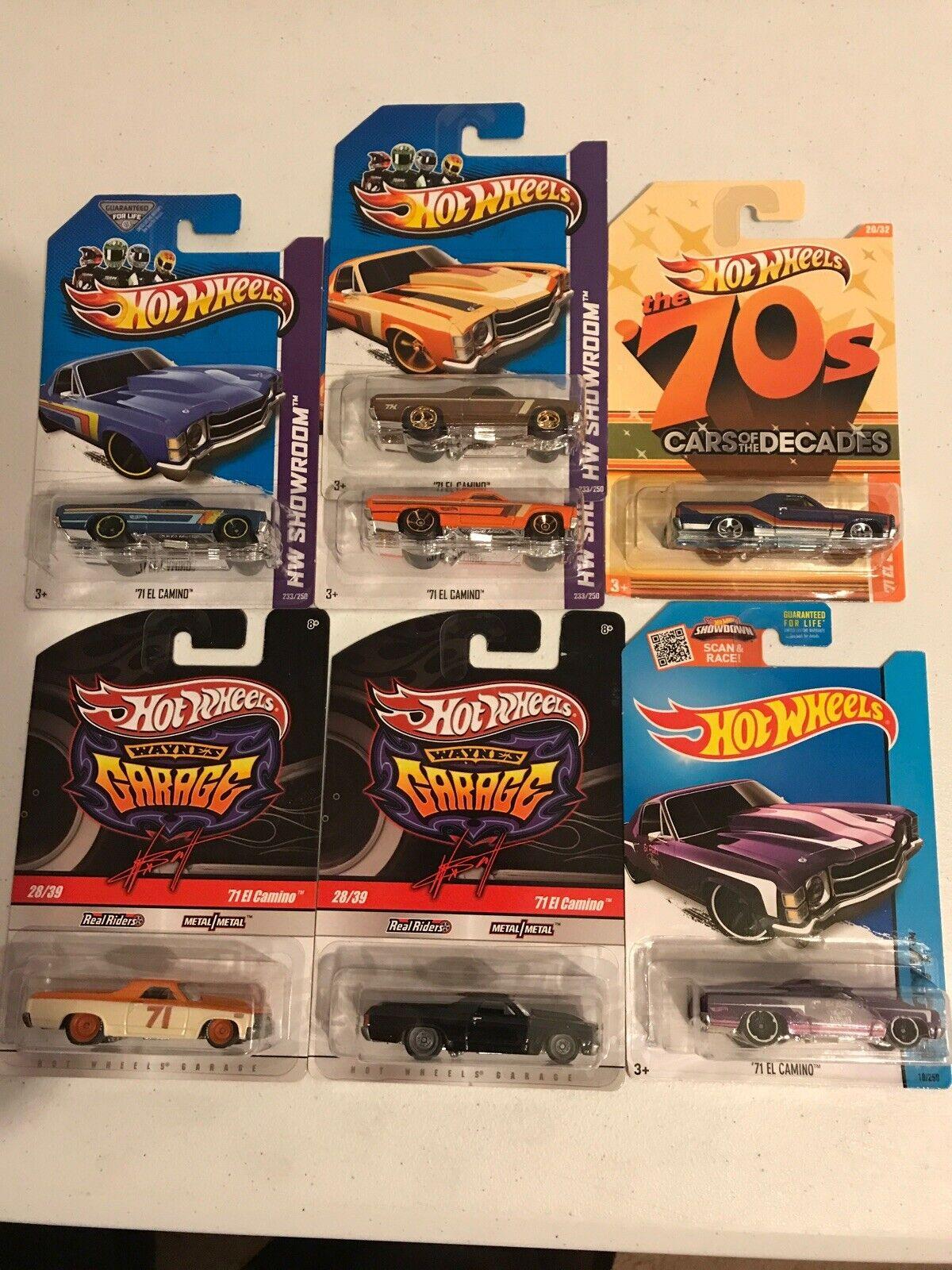 Hot Wheels 1971 El Camino Super Treasure Hunt Lot