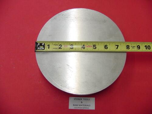 "8/"" ALUMINUM 6061 ROUND ROD .9/"" LONG T6511 8.00/"" Diameter Solid Lathe Bar Stock"