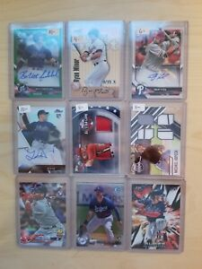 30-Card-Lot-Auto-Rookie-RC-Game-Used-ed-Refractor-Buy-3-Get-4th-FREE