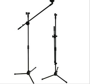 Tripode-Microfono-Pie-de-Micro-Soporte-Ajustable-Metal-Robust-CON-PINZA