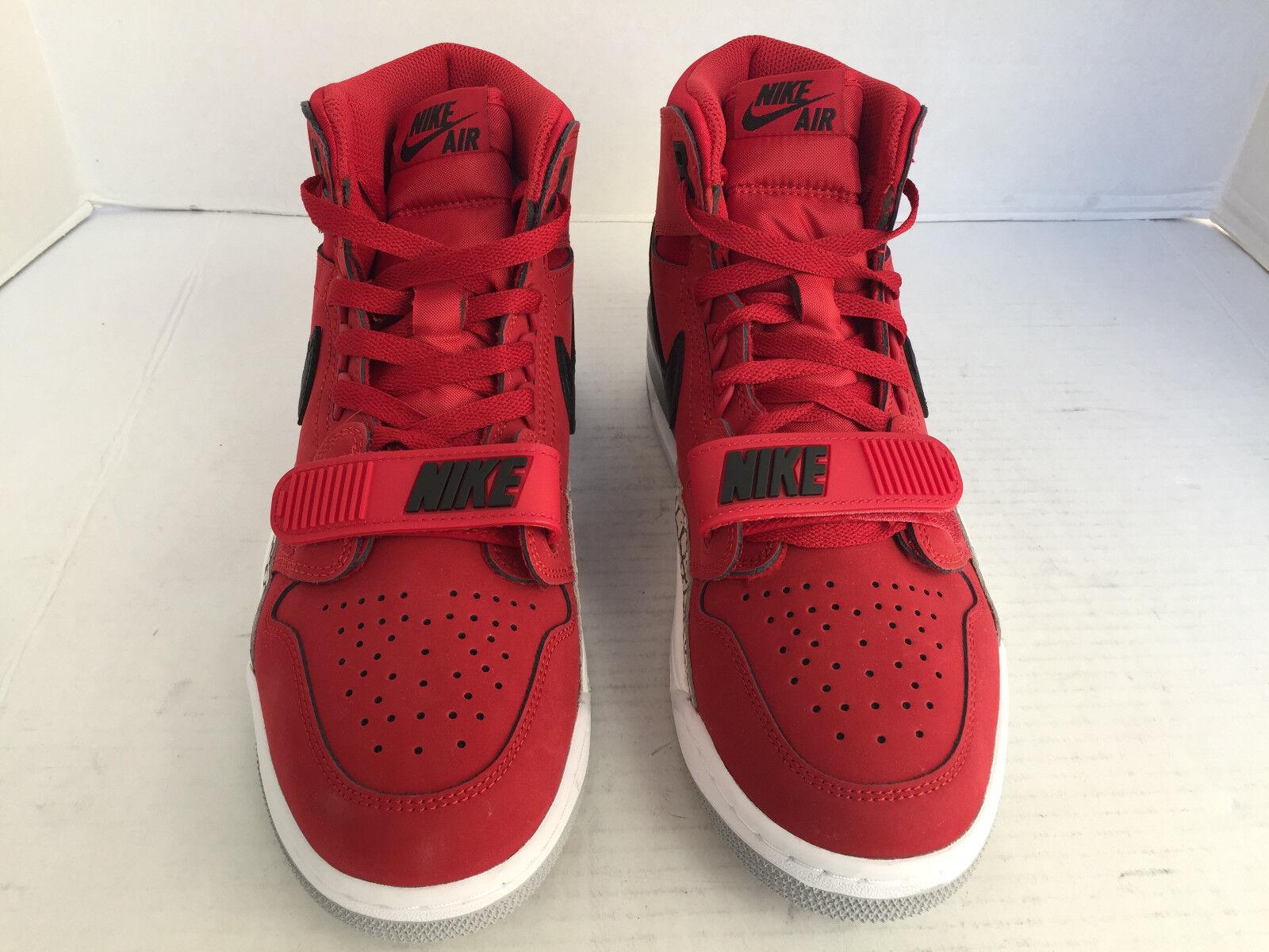 Nike Air Jordan Legacy 312 Tgold Varsity Red Black lot AV3922 601 Mens Size 9