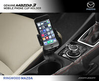 Genuine Mazda 3 Bm Mobile Phone Cup Holder Accessory Part Bm11accup