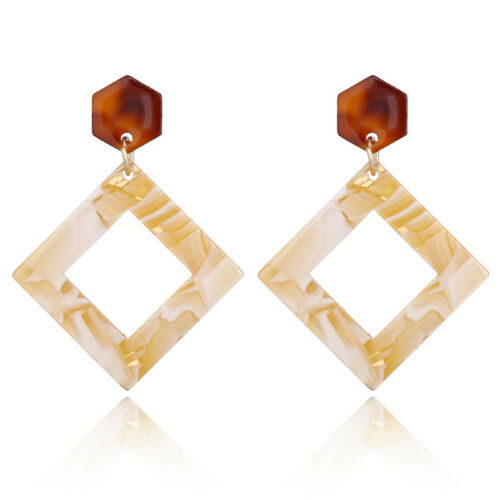 Women Fashion Geometric Long Drop Dangle Earrings Women Statement Jewellery Gift