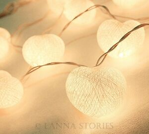SLH196-20-White-Cotton-Heart-Patio-Party-String-Lights-Fairy-Wedding-Decor