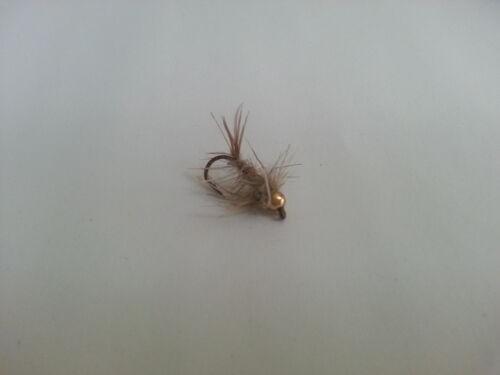 Exori Gold Head Nymph Dark Grey Fly Fly Fishing Flies Trout Grayling