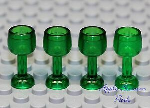 Nouveau-Lego-City-Minifigurine-Lot-4-Green-Gobelet-Pirate-Chateau-Mini