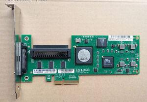 LSI-Logic-SCSI-LVD-SE-Controller-PCI-Express-x4-LSI20320IE-439946-001-Tested