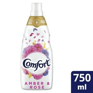Comfort Aromatherapy Amber And Rose Fabric Conditioner 750mL