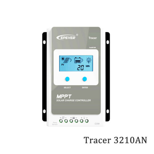 Traceur 3210AN 30 A Maximum Power Point Tracking Solar Charge Controller 3210 A MT50 WiFi Bluetooth ELOG 01
