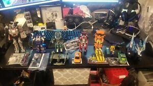 Transformers 10 figure lot Prime Generations RID Prime Universe