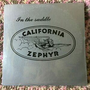 CALIFORNIA ZEPHYR VINYL in the saddle LP SEALED 1977 iron horse records CA Rock