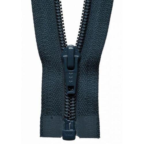 5 Zip YKK 76cm//30 inch Nylon Open End Medium Weight No
