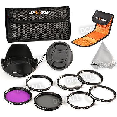 58mm UV CPL FLD Nahlinsen Makrolinsen Close Up +1 +2 +4 +10 Objektiv Filter Set
