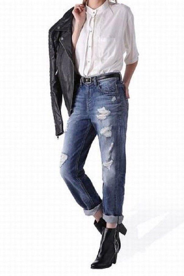 Womens Diesel Jeans Kameron 0848I Boyfriend Distressed  27 , 29 ,  30 ,  RP