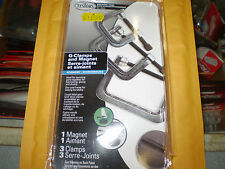 TESTORS HOLDING TOOL G-CLAMPS (3) AND MAGNET (1) 8945 NIP