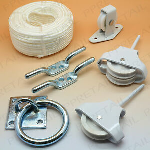 Pulley System Accessories Trap Door Attic Loft Hatch Kit