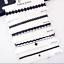 6Pcs-Set-Gothic-Punk-Velvet-Tattoo-Lace-Collar-Choker-Pendant-Necklace-Jewelry thumbnail 4