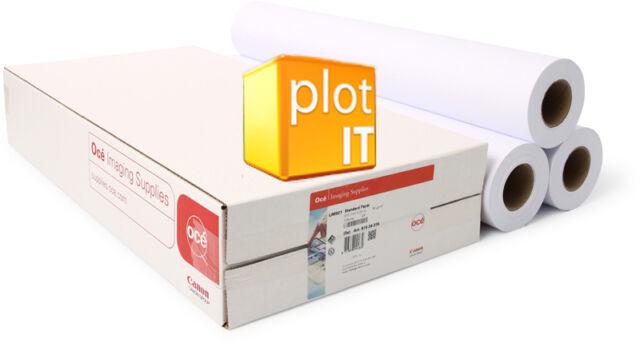 "3 rolls Designjet 90gm Plotter Paper 914 x 50m A0 36"""