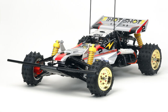 Tamiya 58517 Super Shot (Super Hot Shot) RC Kit  (CAR WITHOUT ESC)