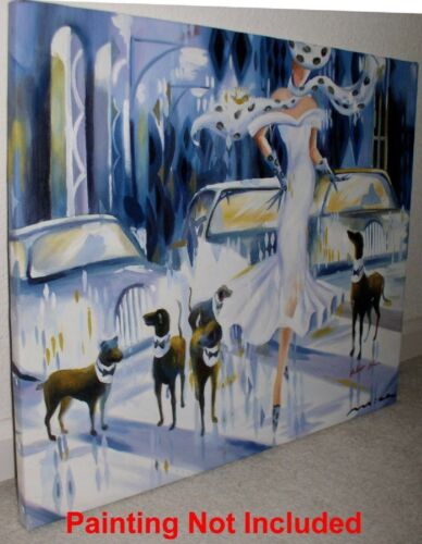 Professional Canvas Stretching Service for Size 16x20in or 20x24in Oil Paintings