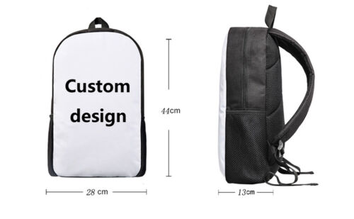 "White Horse Backpack 17/"" Shulder Daypack Men Boys Kids Schoolbag With Lunch bags"