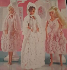 Free Sindy Doll Knitting Patterns : Vintage Knitting Pattern Doll Sindy Barbie Clothes Bride ...
