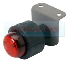 RUBBOLITE / TRUCK-LITE MODEL 50 M50 50/02/00 REAR RED MARKER LAMP/LIGHT +BRACKET