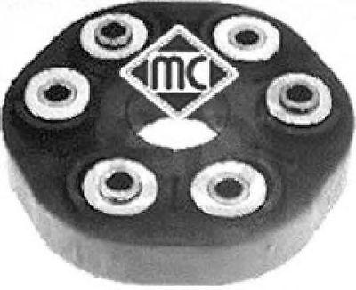 Giunto Albero longitudinale Crociera Crociera Metalcaucho 05834 BMW